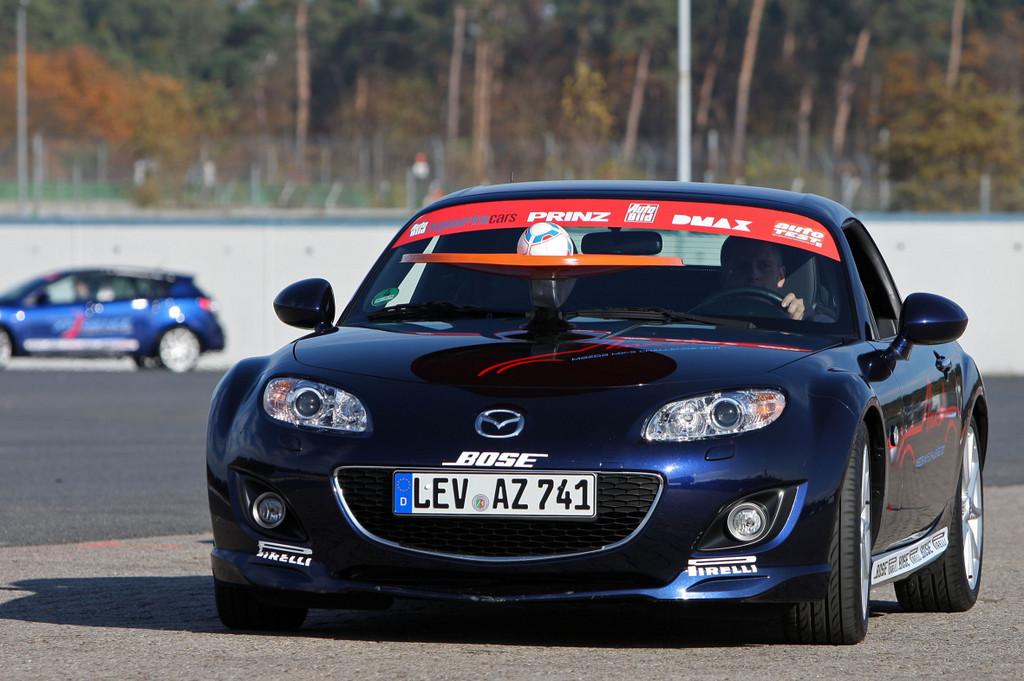 Mazda Zoom-Zoom Xperience und MX-5 Challenge.