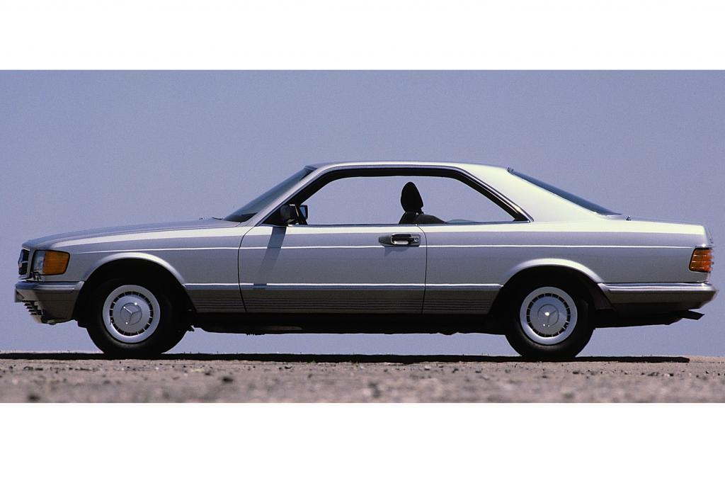 Mercedes 380 SEC, ab 1981