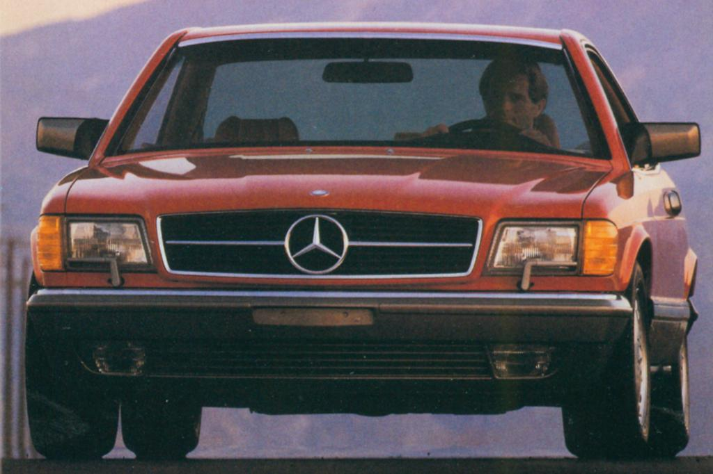 Mercedes 560 SEC US Version ab 1986