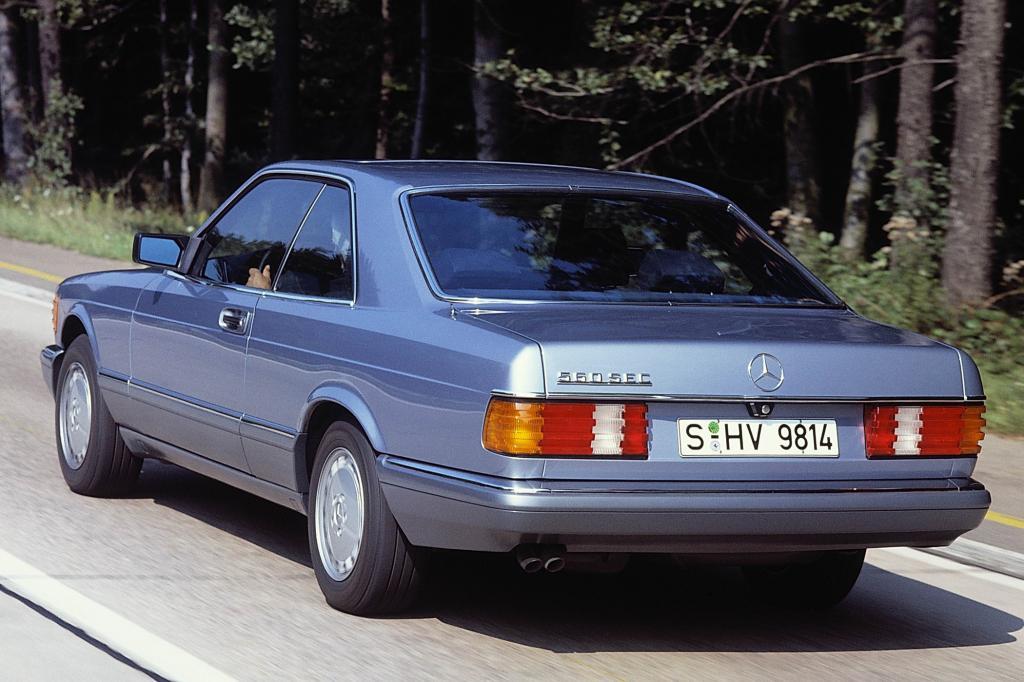 Mercedes 560 SEC, ab 1985