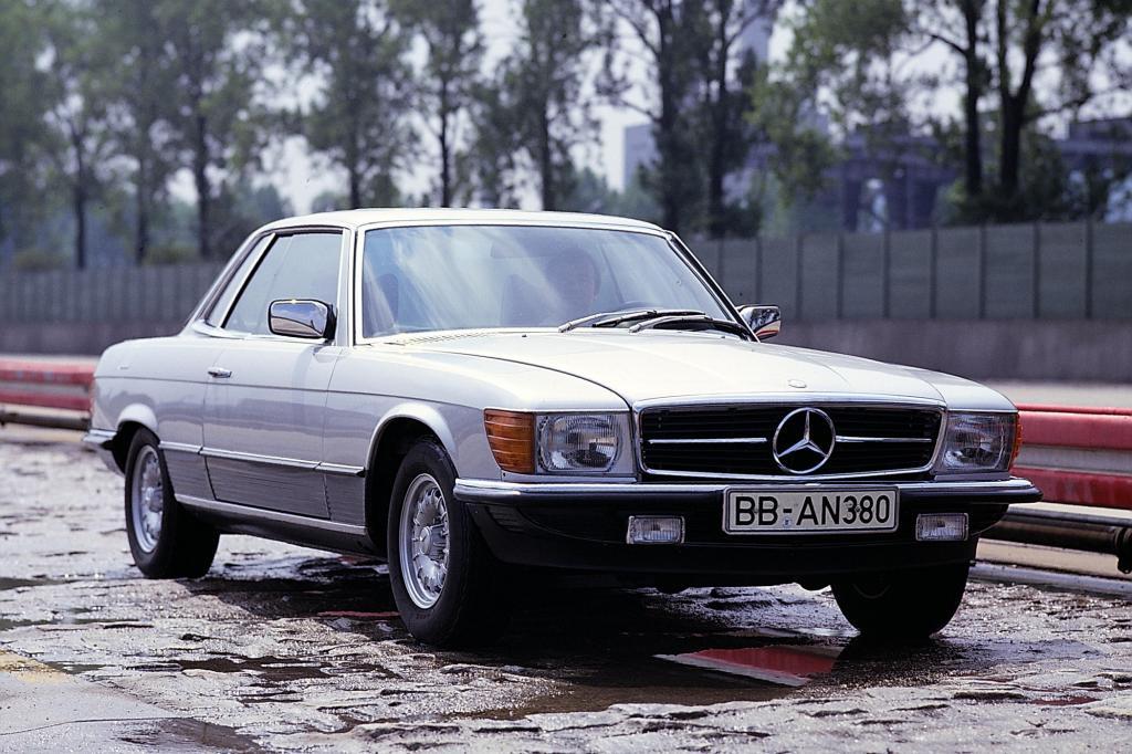 Mercedes Baureihe C107, von 1972 bis 1981