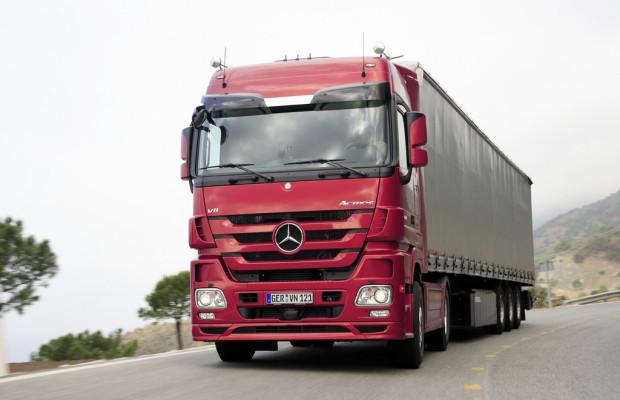 Mercedes-Benz Actros zum vierten Mal