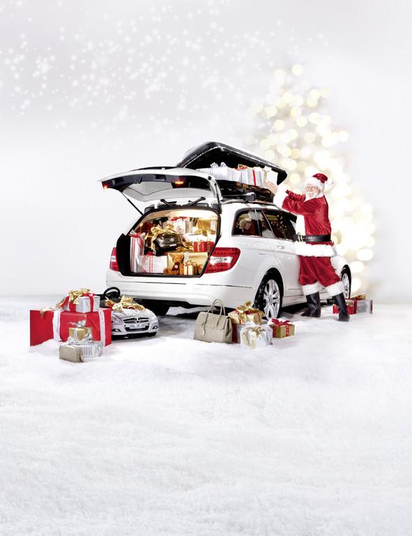 Mercedes-Benz Christmas Stars: Weihnachten unter einem guten Stern.