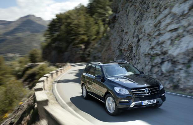 Mercedes-Benz M-Klasse erhält Umweltzertifikat