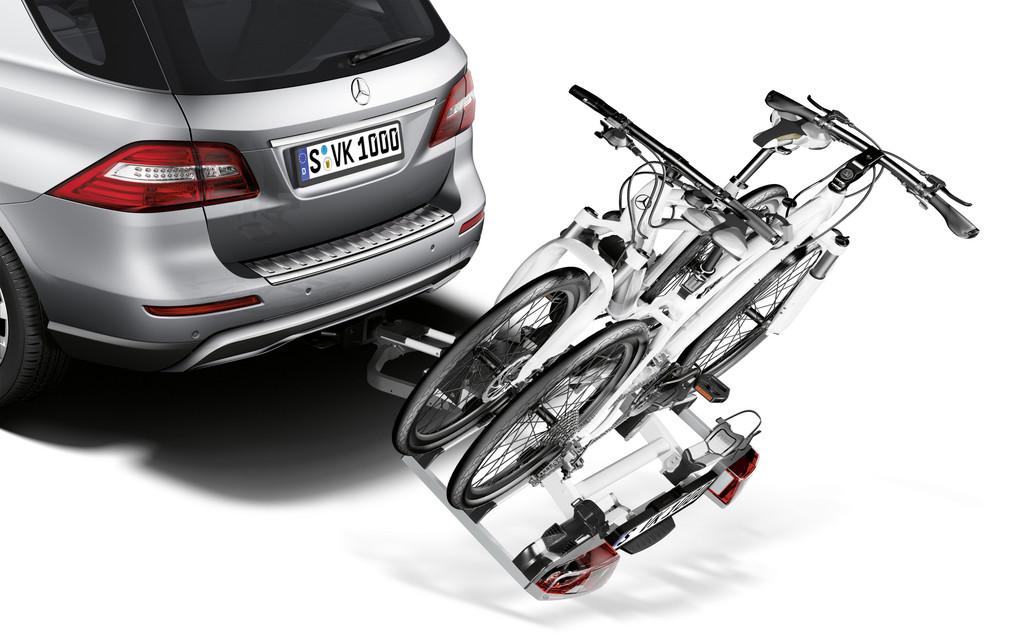 Mercedes-Benz bietet viel Zubehör für die M-Klasse