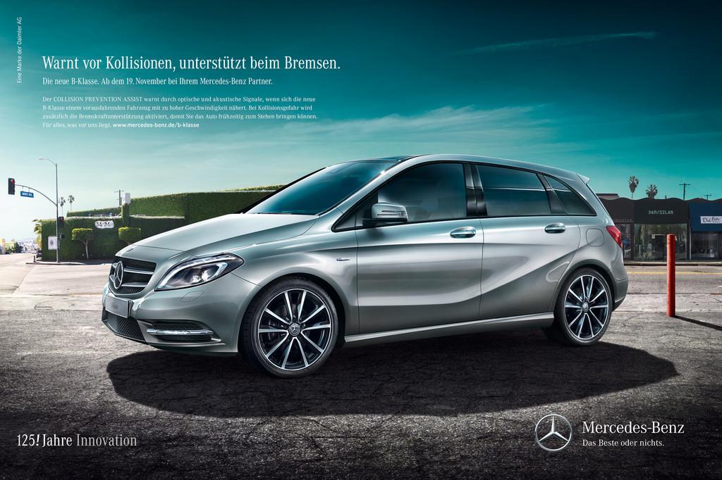 Mercedes-Benz startet Launchkampagne für die B-Klasse