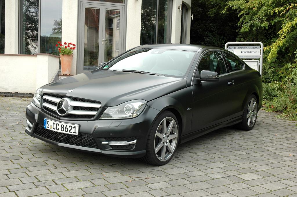 Mercedes-C-Klasse-Coupé, hier als 204-PS-Turbodiesel.