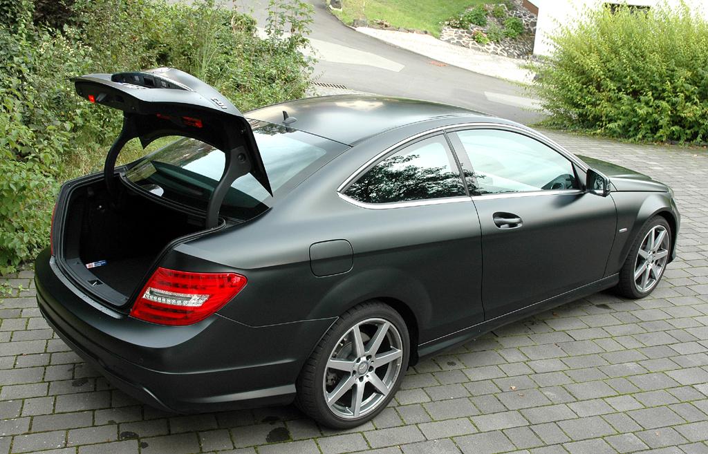 Mercedes C250 CDI Coupé: Das Gepäckabteil fasst ordentliche 450 Liter.