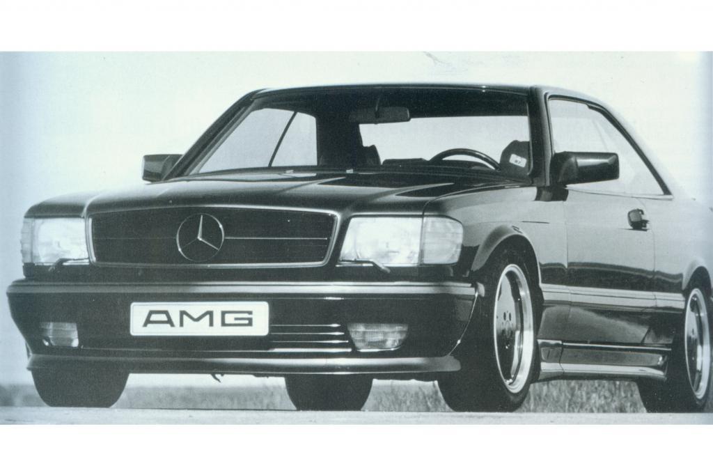 Mercedes SEC AMG, 1987