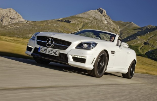 Mercedes SLK 55 AMG - Halbe Portion