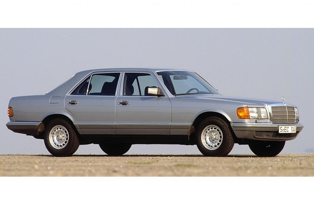 Mercedes W126 von 1979 bis 1991