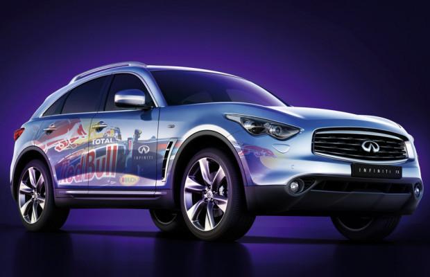 Mit Infiniti zur Formel-1-Schmiede von Red Bull Racing
