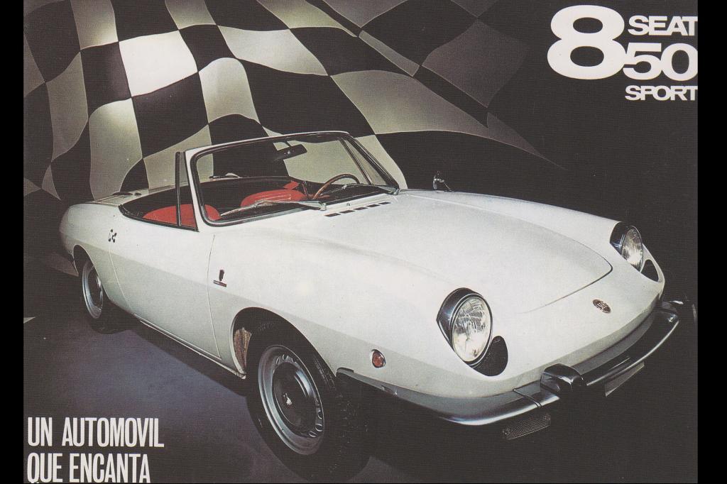 Mit dem Seat 850 Sport Spider wurde es 1970 sportlich