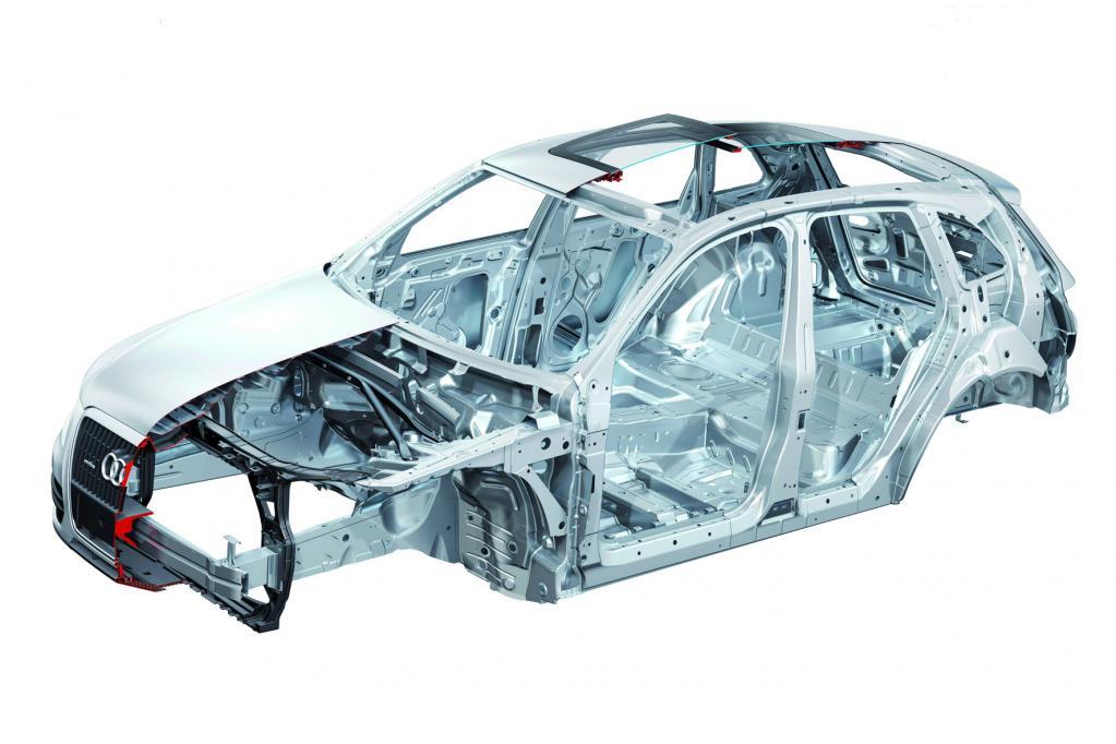 Moderner Stahl macht Autos leichter