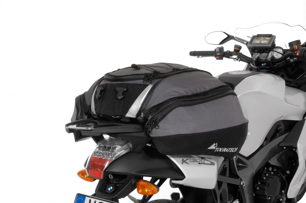 Motorradausstatter Touratec hat Soziustasche Travel Bag im Programm