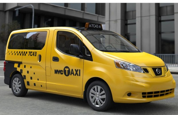 Nissan NV 200 Taxi - Yellow Cab aus Japan