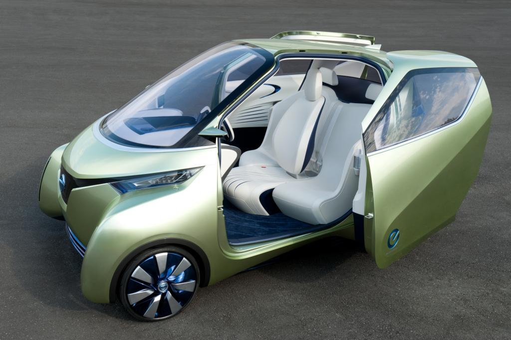 Nissan Pivo 3 - Die Elektro-Kugel wird erwachsen