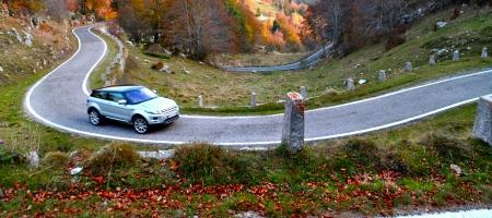 Panorama: Schönling und Naturbursche - Offroad-Tour mit dem Range Rover Evoque