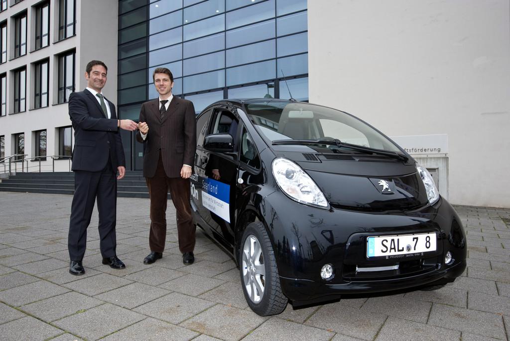 Peugeot Ion für Saarlands Wirtschaftsministerium