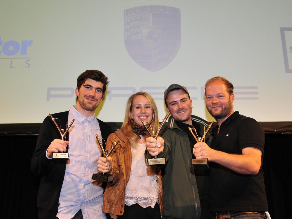 Porsche Award für Werbefilm-Studenten