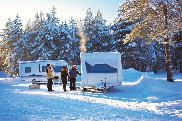 Ratgeber: Wie Caravan und Wohnmobil richtig überwintern