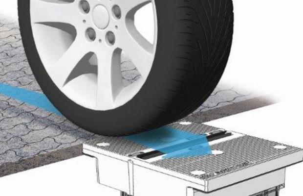 Reifenprofilmessung im fließenden Verkehr