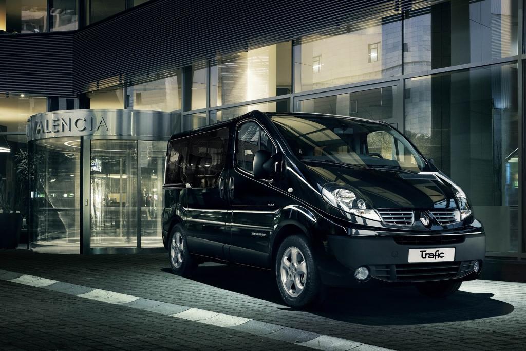Renault Trafic Black Edition - Mehr Komfort für Hotelgäste