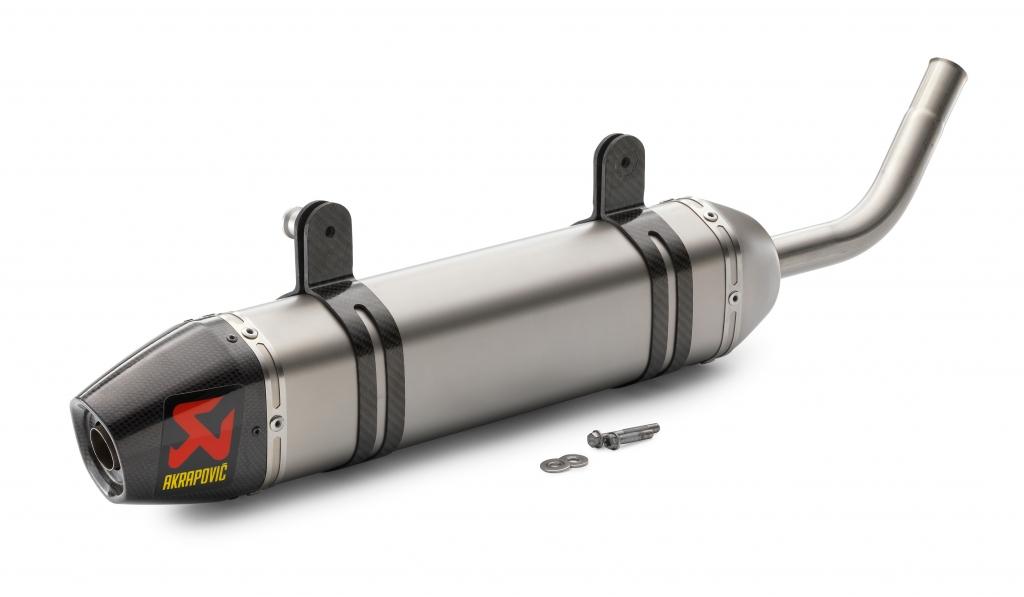 SXS WERKSENDDÄMPFER für EXC 125 Modelljahr 2012 homologiert