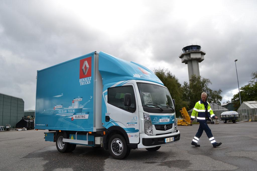 Schwedische Unternehmen testen Renault Maxity Elektrik