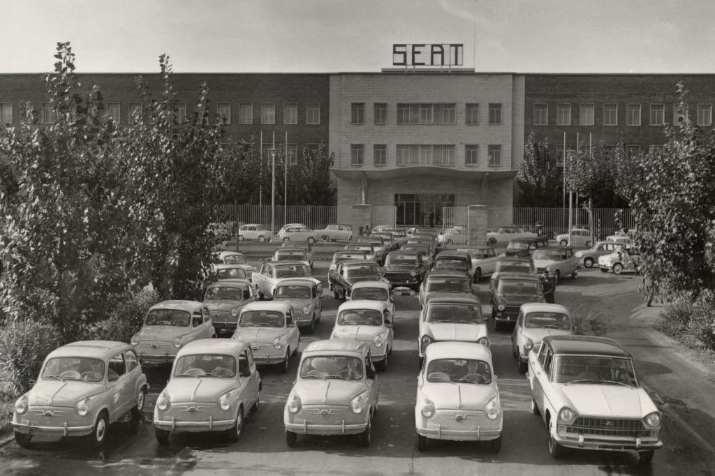 Seat begann mit Lizenznachbauten von Fiat-Modellen