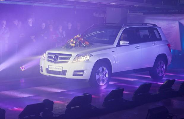 Sechsmillionster Mercedes-Benz in Bremen vom Band gerollt