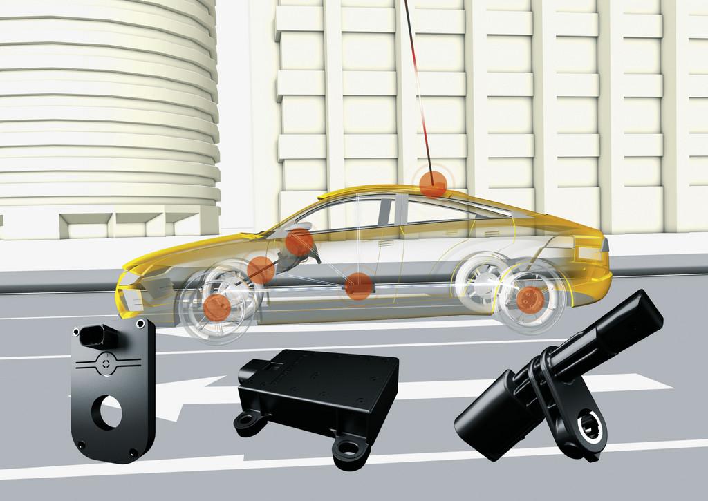 Sensor von Continental kann Position fahrstreifengenau erkennen