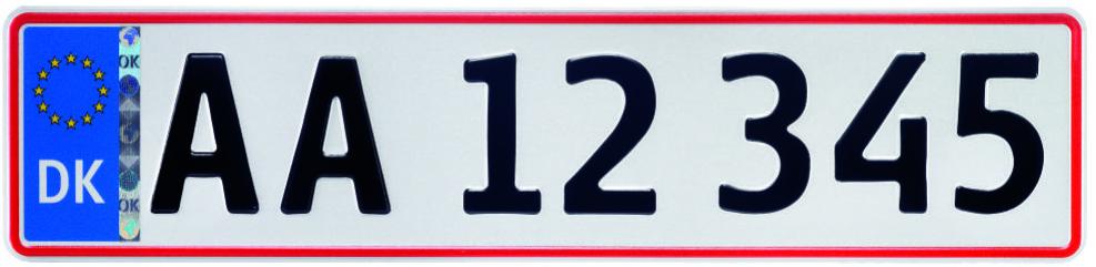 Skandinavische Autos fahren mit deutschen Kennzeichen