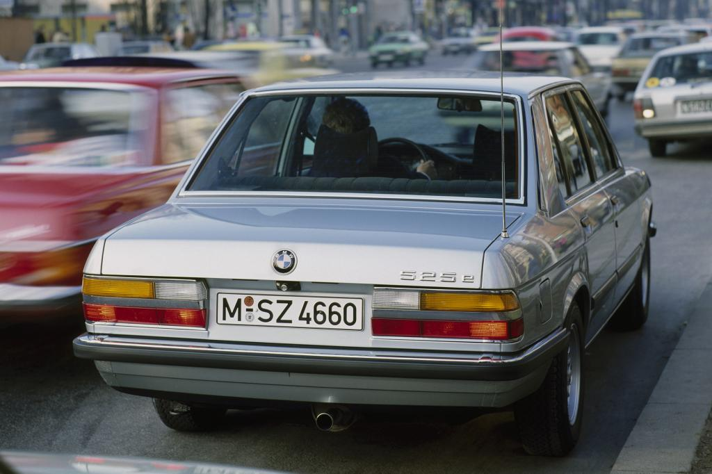 Sparsam war der 525e ab 1983