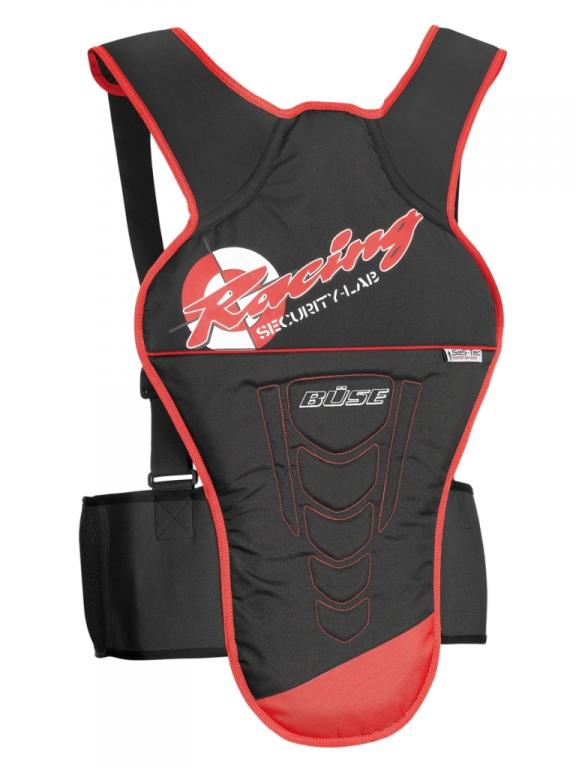 Test – Büse Motorradbekleidung: Integralhelm Rocc 460, Nierengurt Stream, Rückprotektor Racing