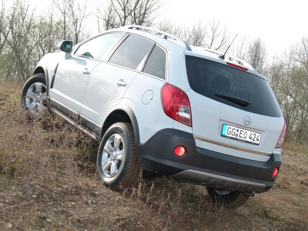 Test Opel Antara Cosmo 2.2 CDTi 4x4: Charmantes Raubein