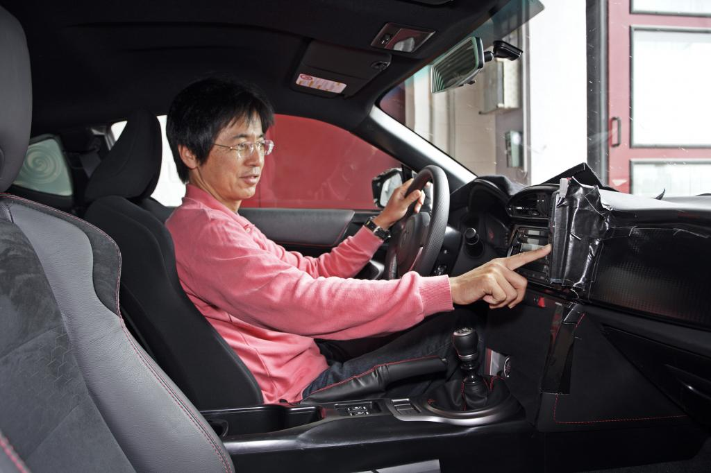 Tetsuya Tada hat gerade den vielleicht leidenschaftlichsten Job in Toyota City
