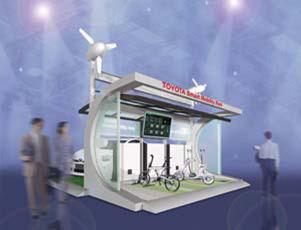 Tokyo 2011: Toyotas vernetzte Mobilität der nahen Zukunft