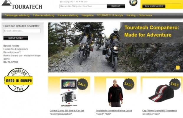 Touratech mit neuem Web-Shop