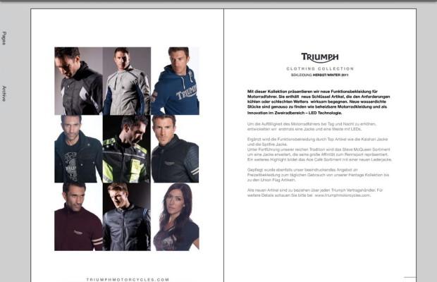 Triumph bietet Herbst-Winterkollektion im Internet