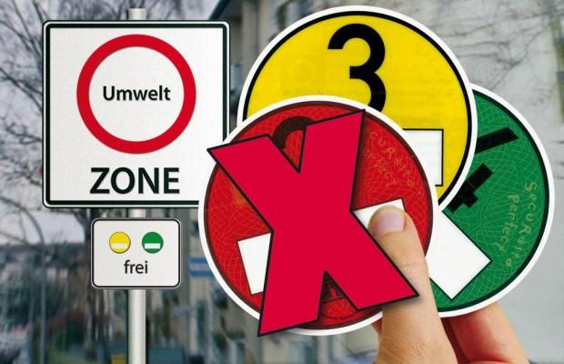 Umweltzonen - Vier weitere Städte für Nichtgrüne gesperrt