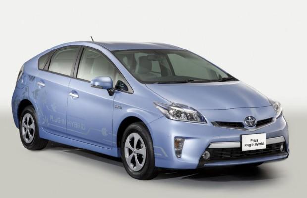 Verkaufsstart für Plug-In-Prius in Japan