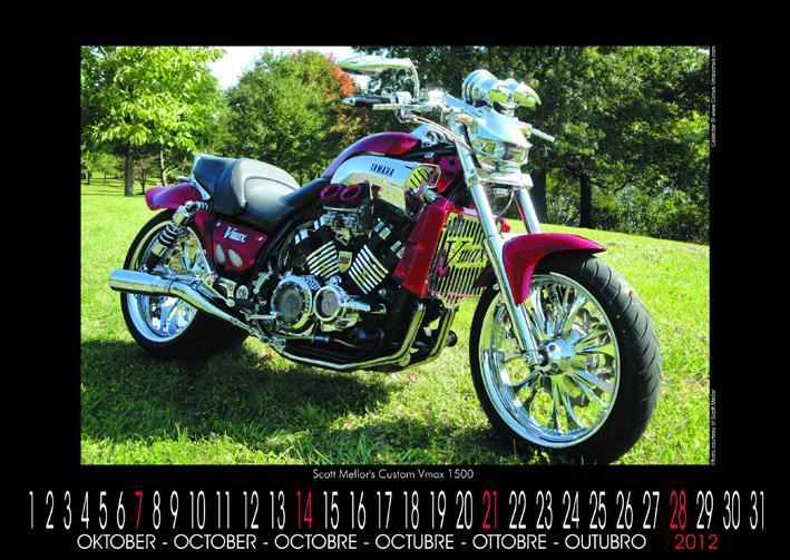 Vmax Kalender 2012 von Circus VMaximus
