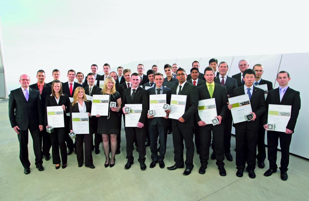 Volkswagen-Konzern ehrt die besten Auszubildenden