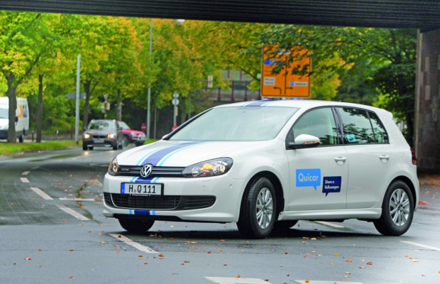 Volkswagen startet Car-Sharing