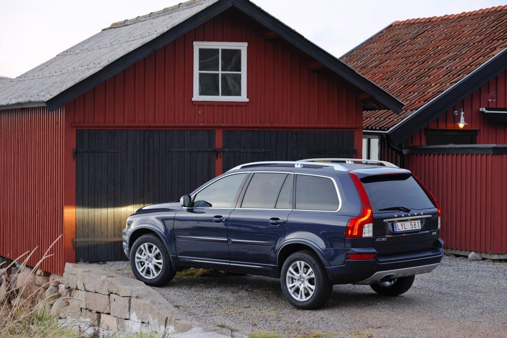 Volvo XC90 reduziert Verletzungsgefahr