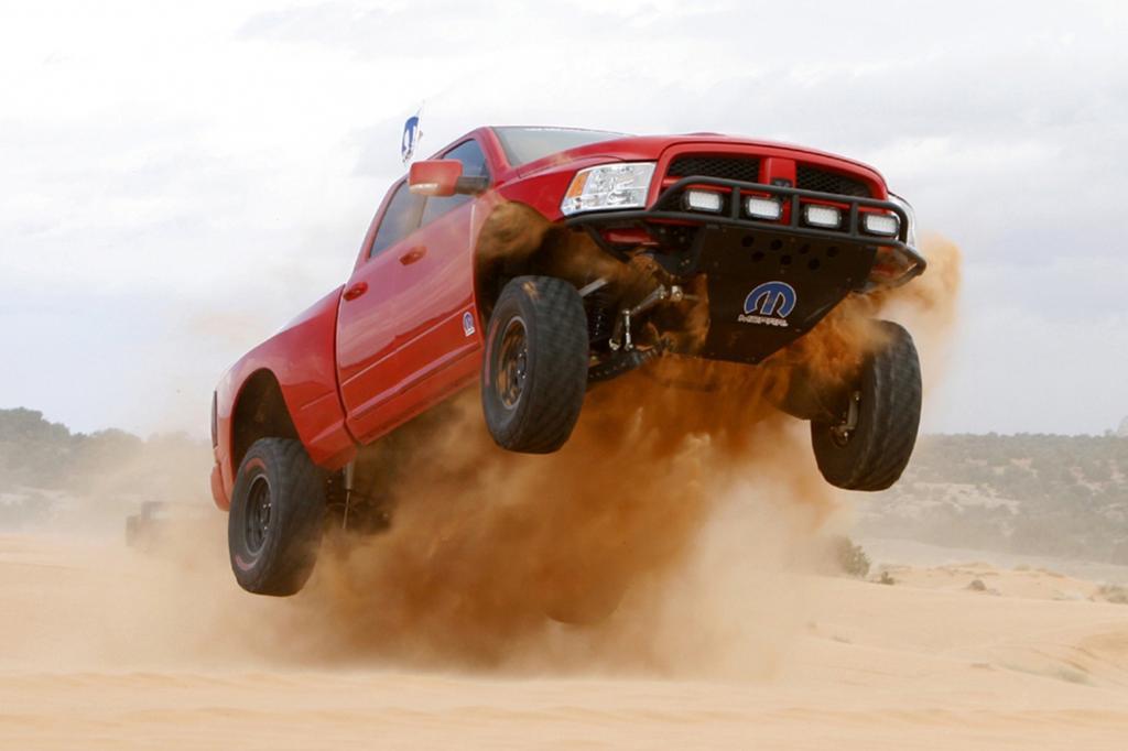 Vom Arbeitstier zum Spielzeug für Männer - der Dodge Ram