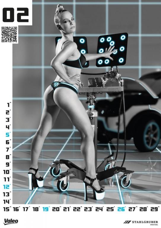 WERKSTATTkultur 2012: Stahlgrubers neuer Erotikkalender ist da!