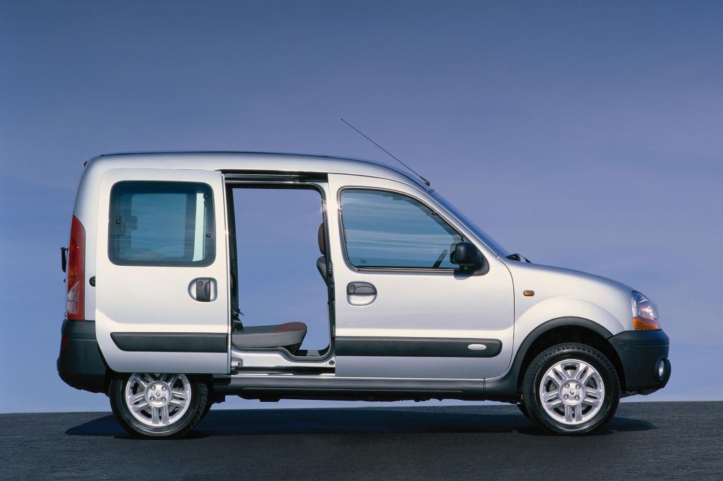 Wer einen Renault Kangoo wählt, benötigt fast immer viel Stauraum