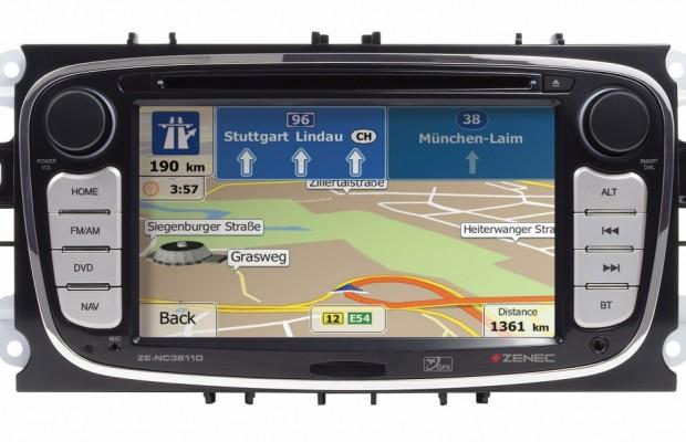 ZENEC E>GOs mit neuer Multimedia-Navigation